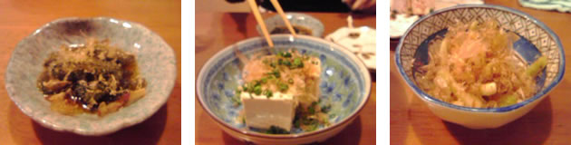 島豆腐にガッツリお箸を伸ばすしーちゃん